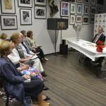 Дмитрий Родионов объявляет о начале работы специализированного сайта Премии.