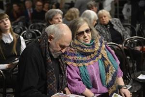 Кама Гинкас и Генриетта Яновская, главный режиссёр МТЮЗ, народная артистка РФ.