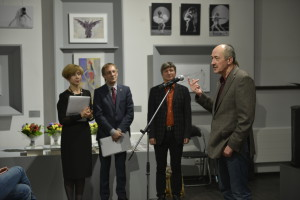 Владислав Иванов благодарит членов Жюри и собравшихся на Церемонию.